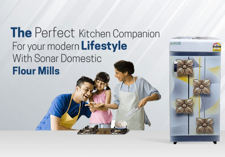 The perfect kitchen companion for your modern lifestyle with Sonar Domestic Flour Mills.
